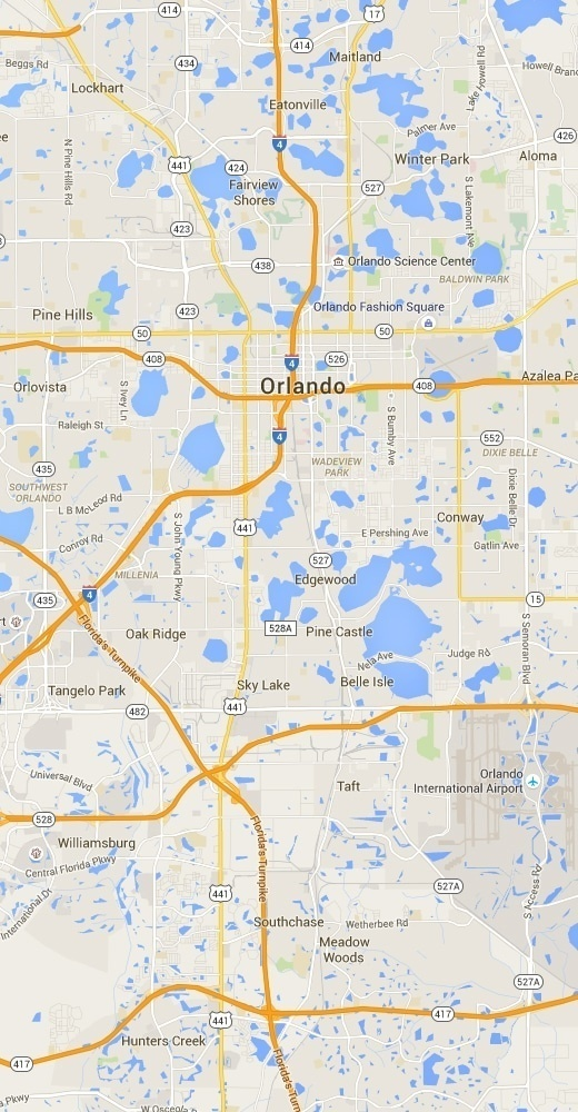 orlandomap - Eyeglass Repair for the Orlando Area