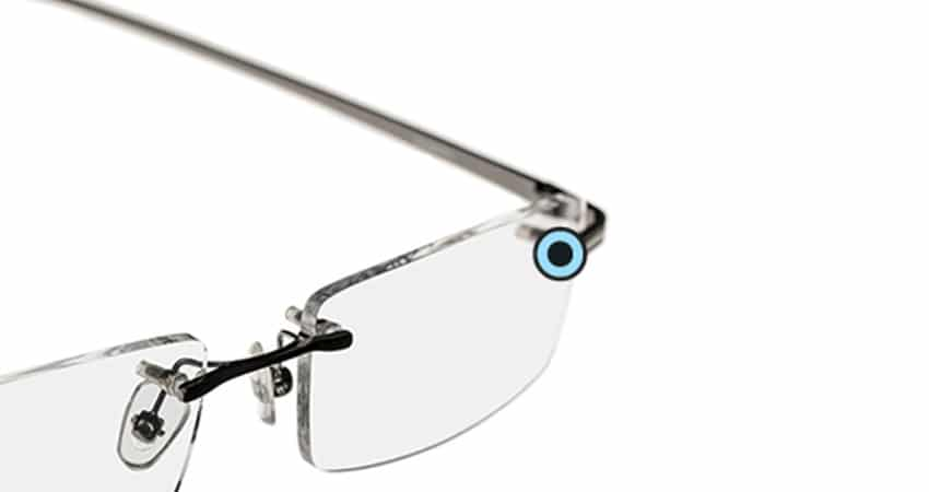 Rimless Eyeglass Frames Repair : Rimless eyeglasses or sunglasses Repair