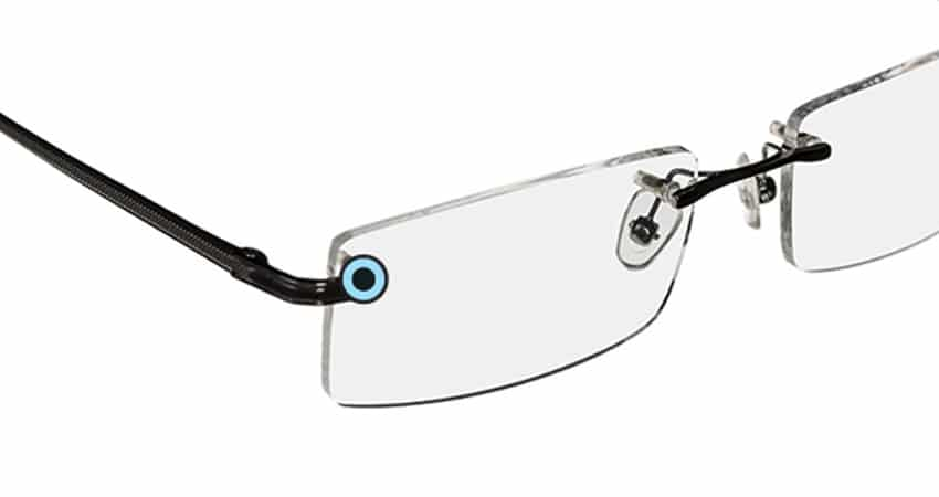Rimless eyeglasses or sunglasses Repair