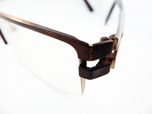 weld after - Laser Eyeglass Repair Provides Superior Results