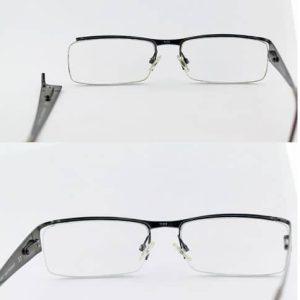Metal Lens Frame Weld Left BA 300x300 - Titanium Frames