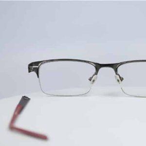 Titanium Eyeglass Hinge rebuild left