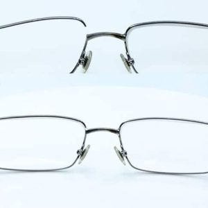 Titanium Lens frame weld - Left