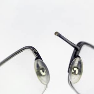Half-rim-eyeglass-metal-bridge-left