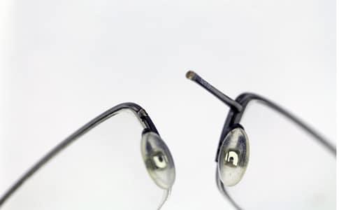 Half-rim-eyeglass-metal-bridge-left