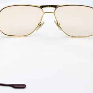 Cartier eyeglass temple broken left
