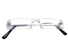 Repair your eyewear today: frameless frames.