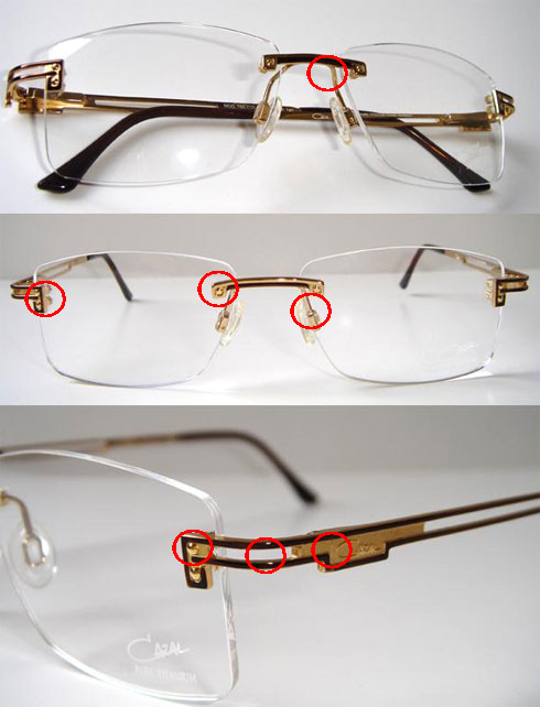 9d9ba77947c Cazal Glasses and Sunglasses Frame Repair